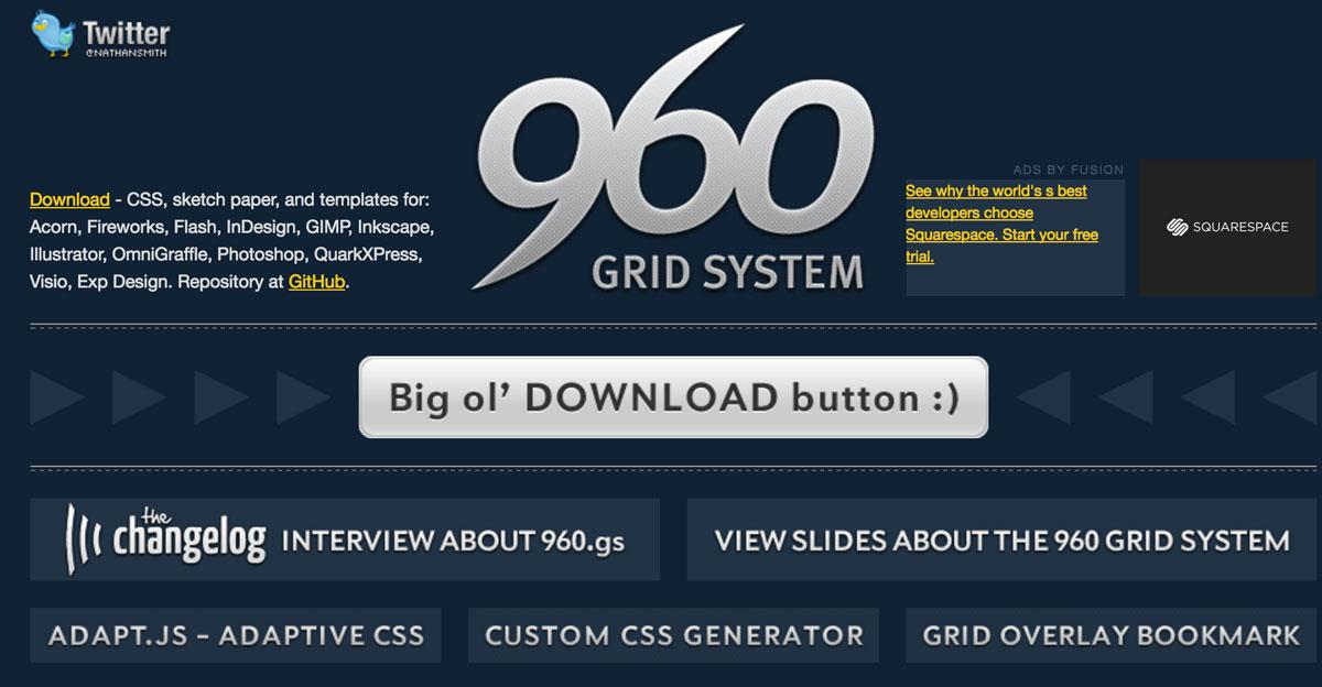 906-grid-system-framework