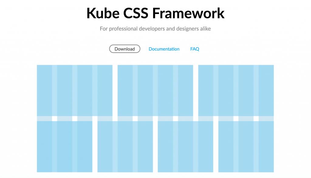 فریم ورک css به نام Kube