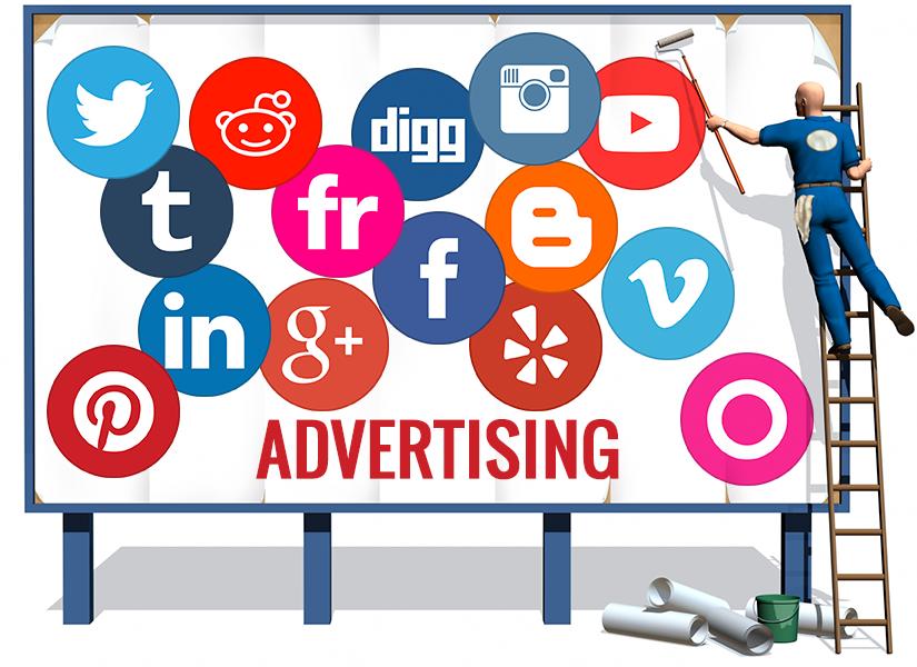 تاثیر تبلیغات در شبکه های اجتماعی