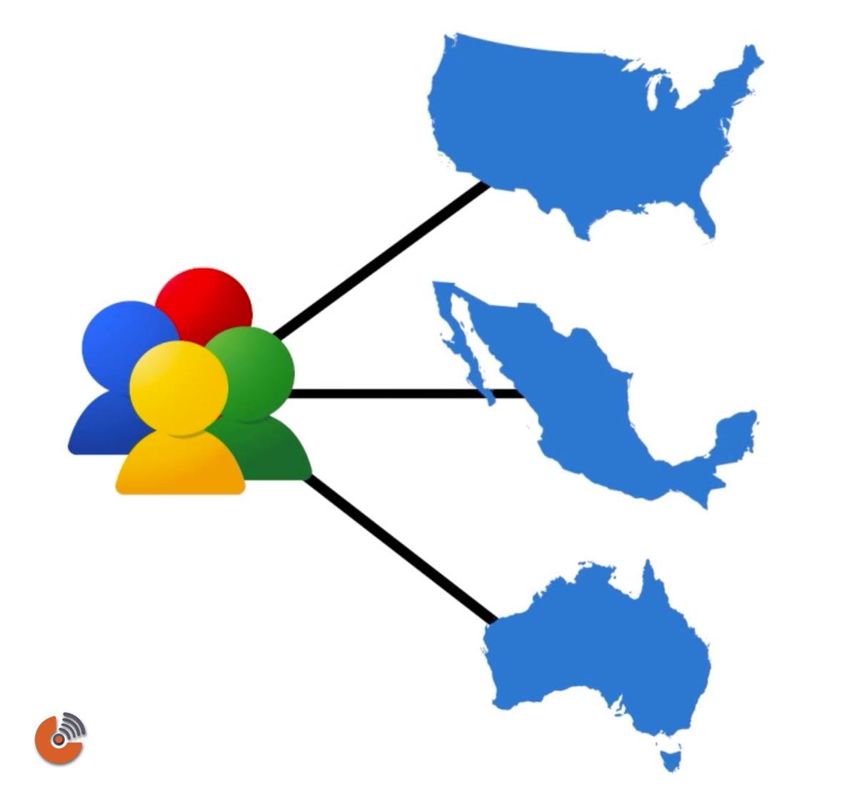 دسته بندی اطلاعات براساس کشور، شهر یا منطقه - گوگل آنالیتیک - google analytics