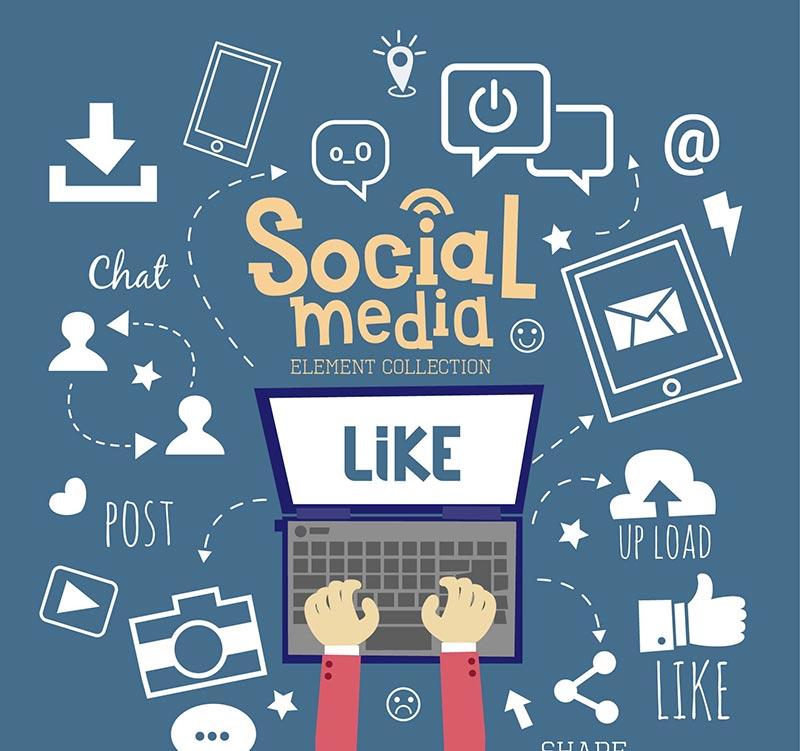 شبکه های اجتماعی - بازاریابی اینترنتی