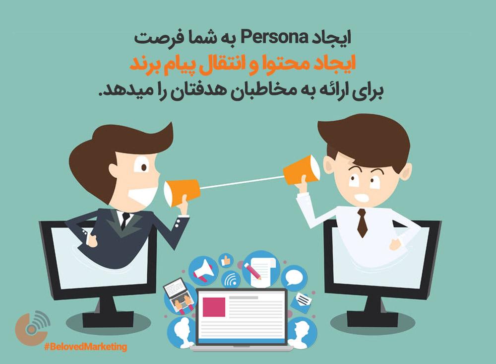 پرسنا - استراتژی بازاریابی