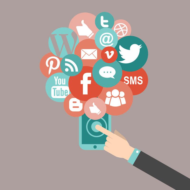 شبکه های اجتماعی - دیجیتال مارکیتینگ