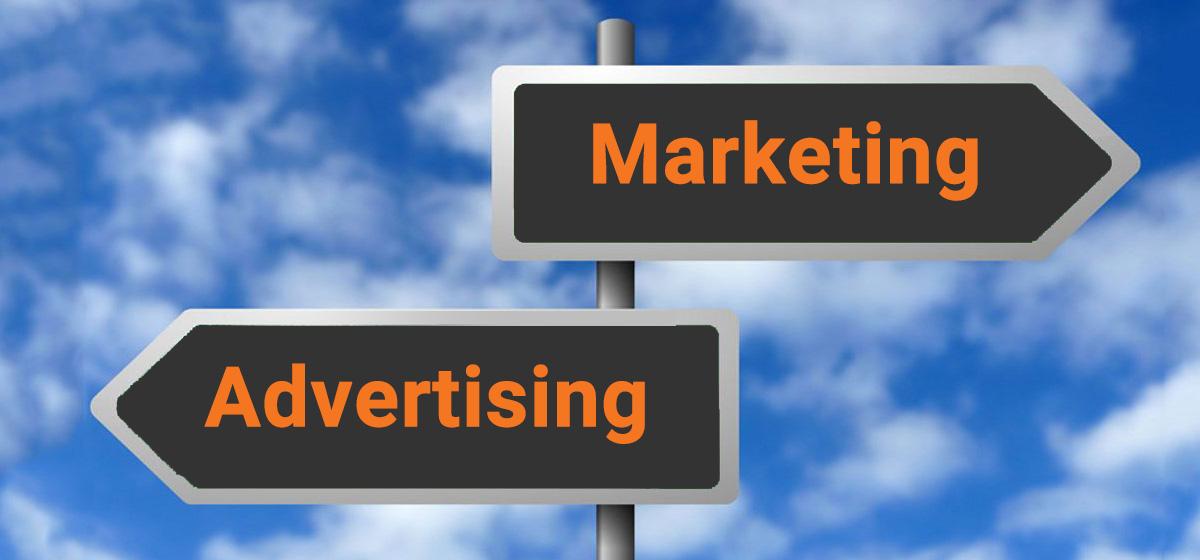 تفاوت اصلی بازاریابی و تبلیغات چیست ؟