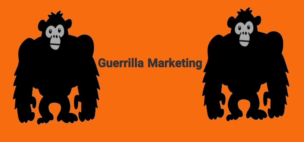 بازاریابی چریکی یا گوریلا مارکتینگ (پارتیزانی) چیست ؟