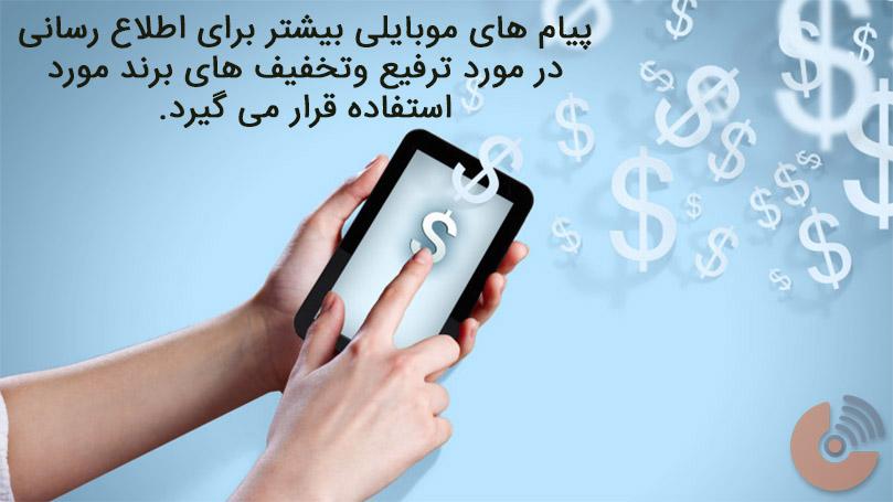 بازاریابی موبایلی - بازاریابی محتوایی
