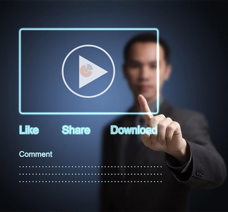 بازاریابی ویدئویی - مرحله تعامل و پیوستن