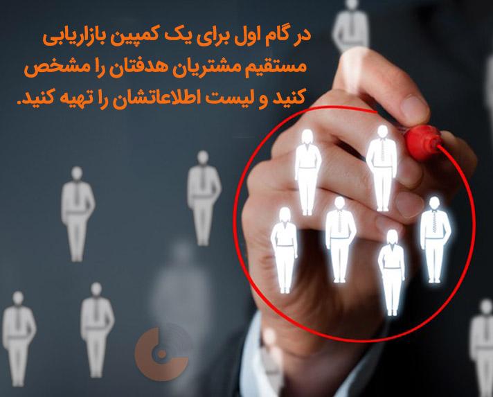 کمپین بازاریابی مستقیم - استراتژی بازاریابی