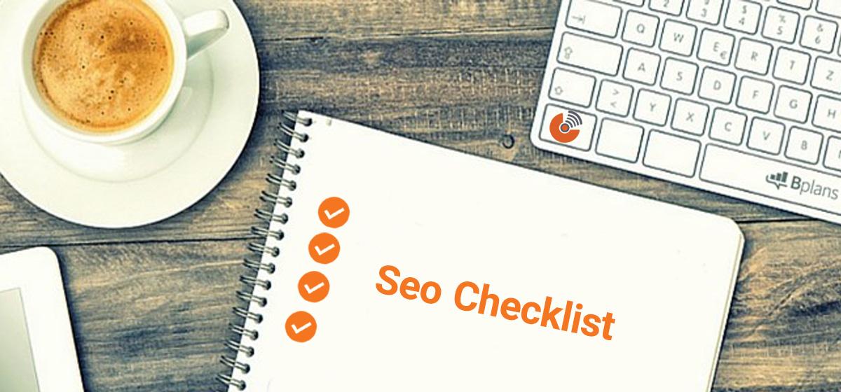 چک لیست سئو برای راه اندازی سایت های جدید